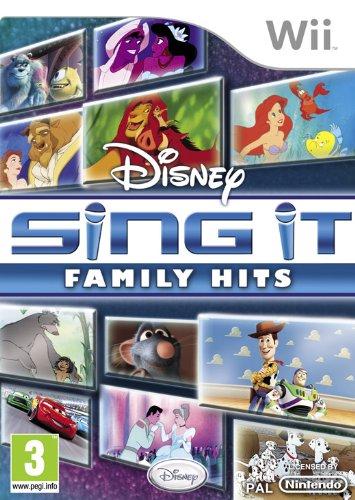 Disney Sing it Wii Family Hits les plus belles chansons des films Disney
