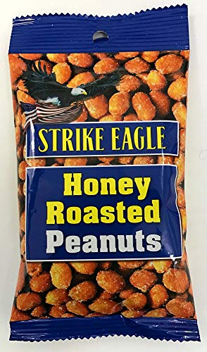 【賞味期限2020.5.11】ストライクイーグル ハニーローストピーナッツ 50g×24袋 アメリカのおみやげ