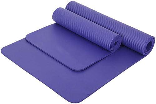 FORTR Home Tapis de Yoga pour Femme Tapis de Fitness Long élargissement 80 cm Tapis de Yoga pour débutant