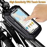 Zoom IMG-1 teuen borsa telaio bici impermeabile