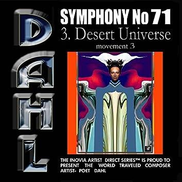 SYMPHONY No 71: 3. Desert Universe