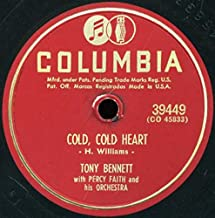 Tony Bennett With Percy Faith And His Orchestra – Cold, Cold Heart/While We're Young
