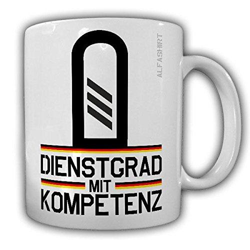 Tasse Hauptgefreiter Dienstgrad Bundeswehr HptGefr Dienstgrad Militär Rangabzeichen Abzeichen Kaffee Becher #20693