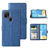 Foluu for OPPO A15 (6.5inch) 2020 Case, Wallet Case Cover