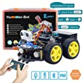 Keywish Smart Robot Car Kit for Arduino Hummer-Bot V2.0 DIY Learning Kit, 4WD Remote Control Car with UNO R3,Tutorial,Bluetooth Modules,Line Tracking,Ultrasonic Sensors Gift Kid