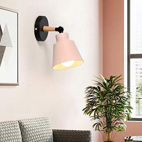 Lampada da parete nordico in legno massello Lampada da parete decorativa bagno camera da letto lampada led parete casa decorazione industriale camera da letto lampada