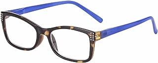 I Heart Eyewear Berlin Blue Tortoiseshell Reading Glasses, 1.25