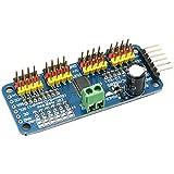 DZS Elec 2PCS PCA9685 16 Channel 12-bit PWM/Servo Motor Driver-I2C Module for Arduino Robot Raspberry Pi Shield Module Servo Drive Board