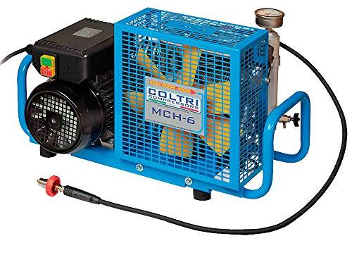 METALSUB COMPRESOR COLTRI MCH6 Electrico Mono 220v, 300 Bar