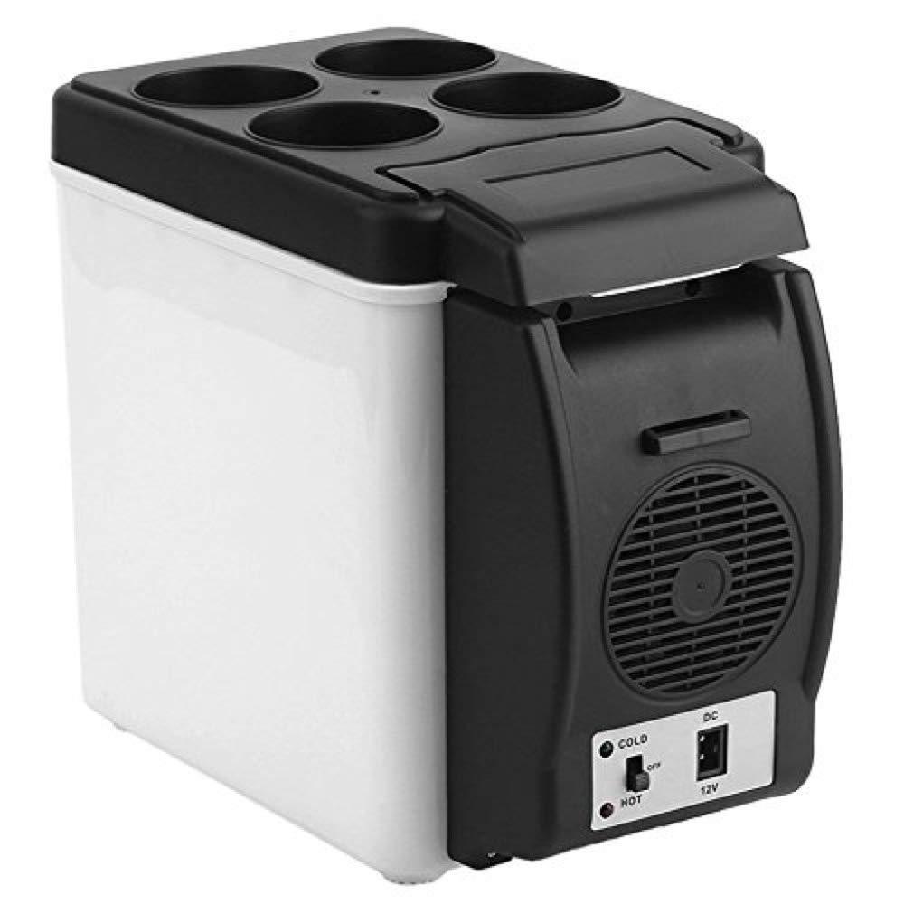 Kievy 6L Termoeléctrica Caja fría Nevera de Camping 12v 240v portátil Refrigerador pequeño para Coche Refrigerador Refrigerador/Calentador Capacidad Suficiente: Amazon.es: Deportes y aire libre
