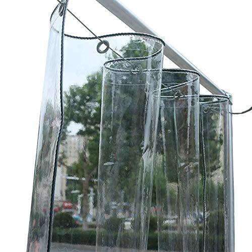LISI PVC Wasserdichtes Tuch, Heavy Duty Klar Gewächshäuser Premium Quality Persenning Tarp Pflicht Sheeting Regenfest Freizeitmöbel Cover - 350 G/M² (Size : 2m x 3m)