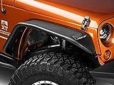 Barricade Tubular Fender Flares; Rear for Jeep Wrangler JK 2007-2018