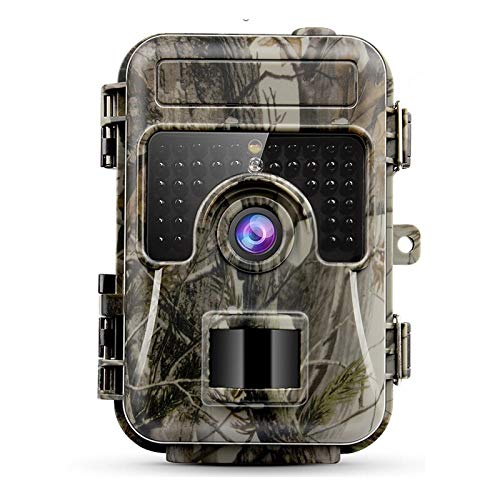 "2019 Advanced Trail Camera by Trail Shot 16MP 1080p (High Definition) Hunting Camera for Deer IP66 Waterproof Game Camera Night Vision Motion Sensor Camera (Wide Angle View) 2.4"" LCD Color Display"
