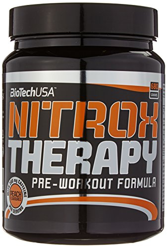 Biotech USA Nitrox Therapy Peach, 1er Pack (1 x 680 g)