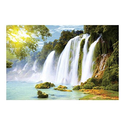Bilderwelten Fotomural - Amazon Waters - Mural apaisado papel pintado fotomurales murales pared papel para pared foto 3D mural pared barato decorativo, Dimensión Alto x Ancho: 190cm x 288cm
