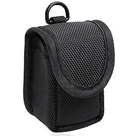 MIBEST Black Pulse Oximeter Case – Nylon O2 Saturation Monitor Case – SPO2 Pulse Oximeter Carry Case – Portable Oxygen…