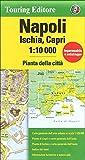 Napoli / Neapel Stadtplan 1:10.000 mit Übersichts und Detailkarten von Capri und Ischia - Wetterfest