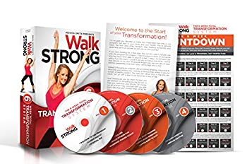 Walk Strong  6 Week Total Transformation System  10 complete workouts on 4 discs plus wall calendar