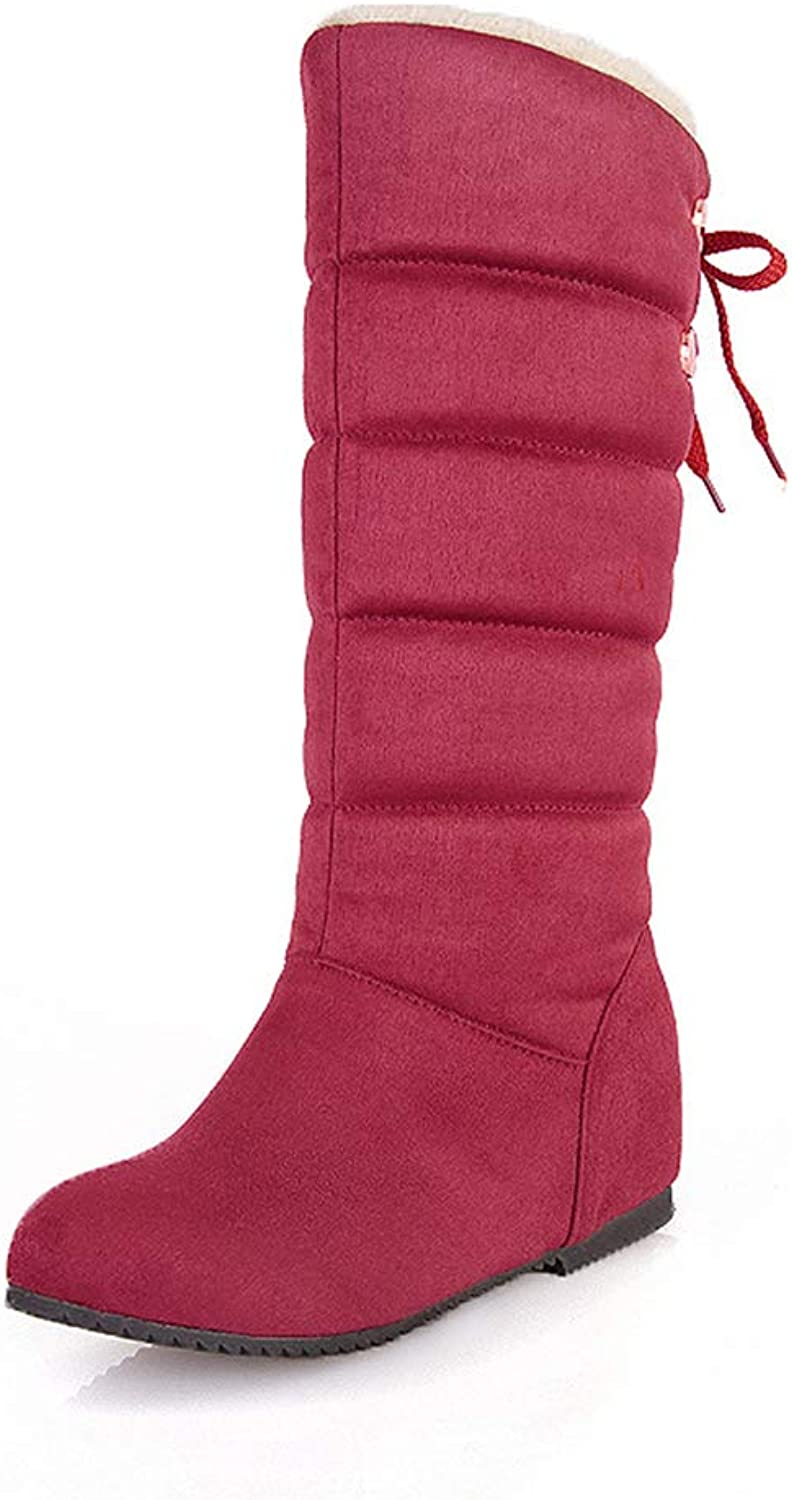 Super explosion Fashion Womens Winter Thermal Snow Outdoor Warm Waterproof Durable Long Boot