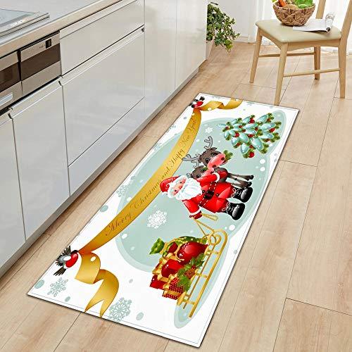 XIAOZHANG runner rug hallway Running santa Crystal velvet door mat indoor outdoor carpet corridor floor bedroom living room study rugs Non-slip absorbent 60x90CM