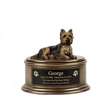 Perfect Memorials Yorkshire Terrier Figurine Cremation Urn