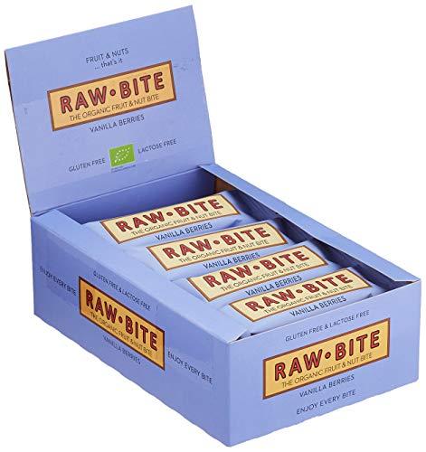 Raw Bite Rohkost Riegel Vanilla Berries, 1er Pack (1 x 600 g)
