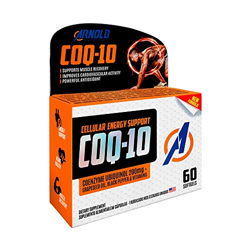 CoQ-10 200mg Arnold Nutrition 60 Softgels, Arnold Nutrition