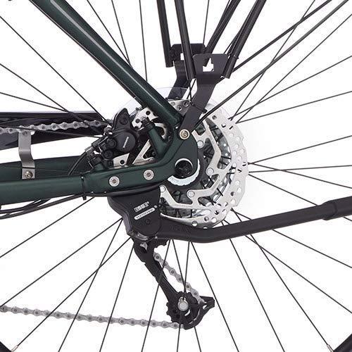 FISCHER Herren – E-Bike Trekking VIATOR 4.0i (2020), grün matt, 28 Zoll, RH 50 cm, Mittelmotor 50 Nm, 48 Volt Akku im Rahmen Bild 4*