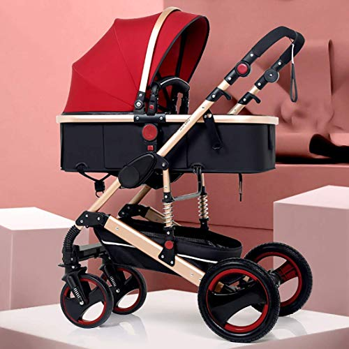 Fantastic Deal! Travel System, Baby Stroller,Lightweight Baby Carriage, Extra-Large Storage, Durable...
