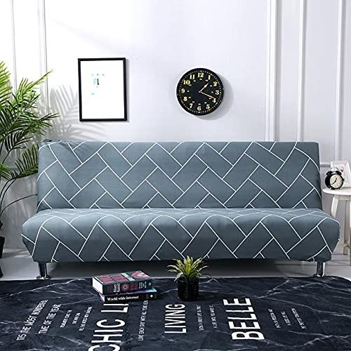 MKQB Funda de sofá retráctil elástica Moderna, Funda de sofá Antideslizante con combinación de Esquina en Forma de L para la decoración del hogar, Sala de Estar NO.6 M (145-185cm