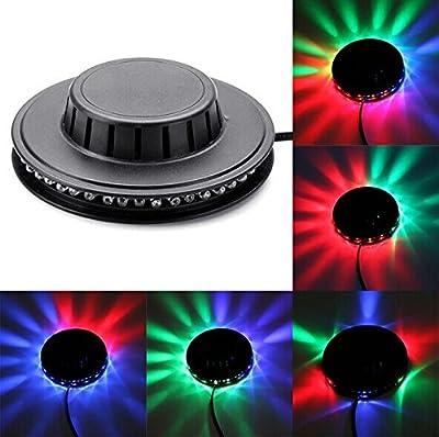 Megatek® Magic 7color LED RGB Stage Light for Disco DJ Stage Lighting, perfect effect