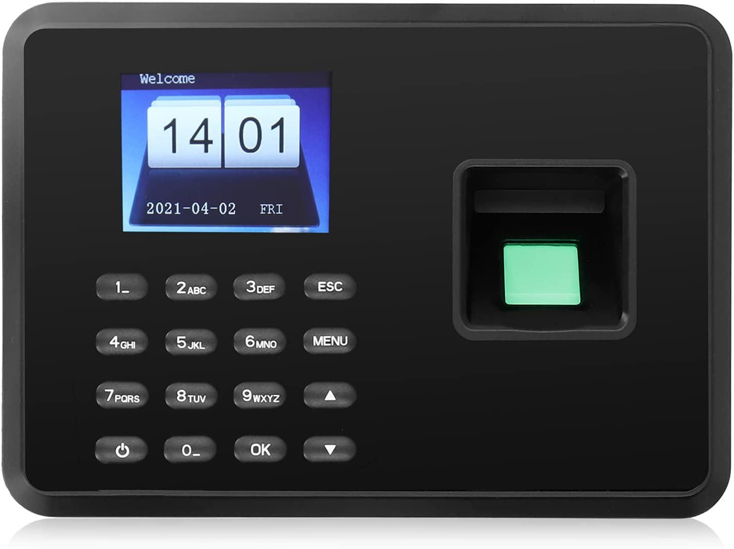 2.4in Limited price Color TFT Screen Time Face Attendance Fingerprint Machine Al sold out.