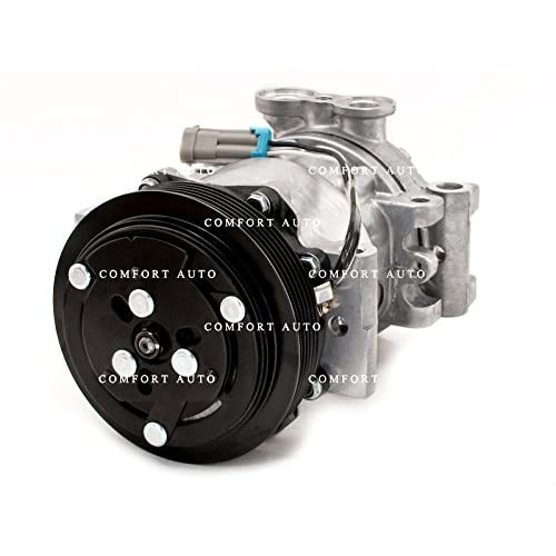 1999 1998 1997 1996 Chevrolet K1500 K2500 K3500 Silverado Suburban Cheyenne Brand New AC Compressor with Clutch 1 YR WARRANTY. by COMFORT AUTO