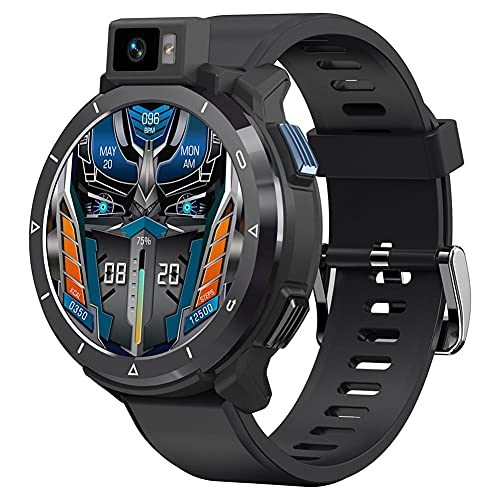 1.6'SmartWatch 2021 New 4G Smart Watch for Man 1 3MP 4GB 64GB 180 ° Rotather Gotatable Sport Fitness Wats Women Wristwatch para Android iOS