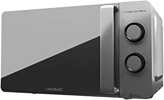 comprar comparacion Cecotec ProClean 3060 Mirror - Microondas con revestimiento Ready2Clean para una mejor limpieza, tecnología 3DWave, 700 W,...