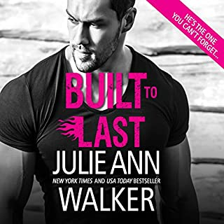 Built to Last     Black Knights Inc., Book 12              Written by:                                                                                                                                 Julie Ann Walker                               Narrated by:                                                                                                                                 Emily Beresford                      Length: 9 hrs and 43 mins     1 rating     Overall 4.0