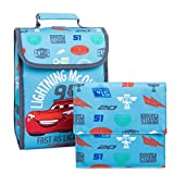 Disney Lightning McQueen Lunch Tote Blue