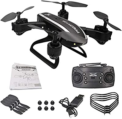 OBEST Mini Drone for Kids and Beginners, AERIAL Folding Drone with Optical Flow, Flight RC Drone Gift for Children (25*25cm)