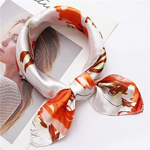 Charm4you Mujer cómodo Bufandas cuadradas de,Bufanda de Sed