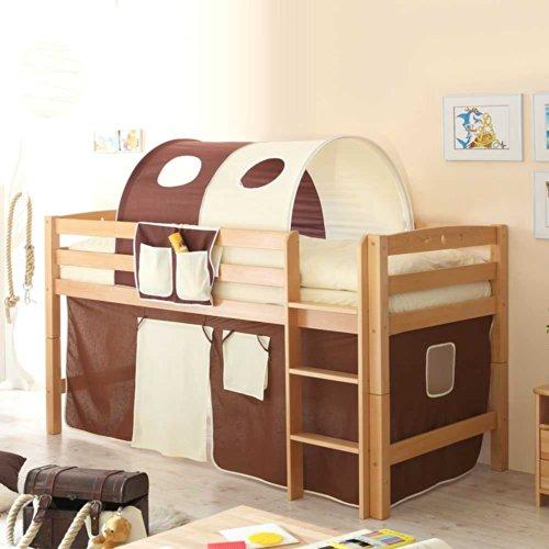 Pharao24 Hochbett Asgar für Kinder