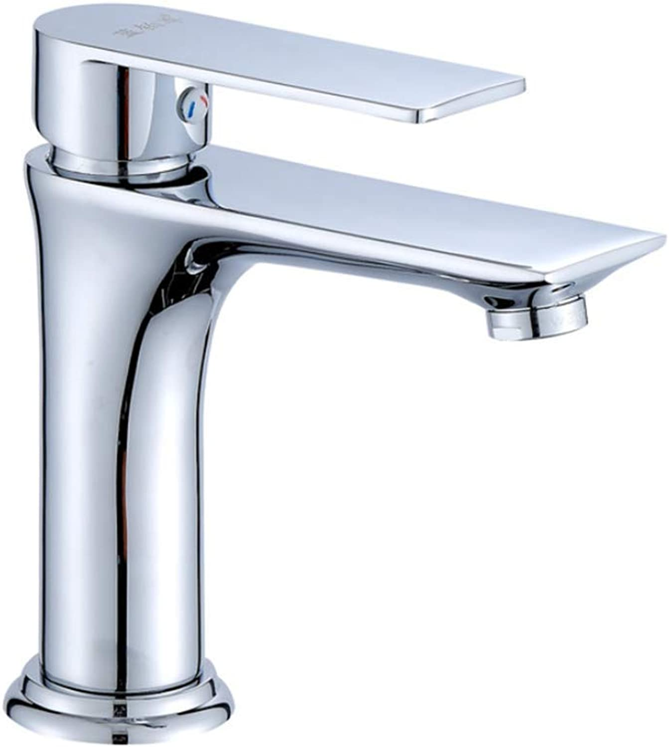 Basin Faucetcopper Single-Hole Faucet Cold and Hot Basin Washbasin Single-Hole Faucet Table Basin