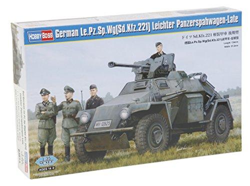 Hobby Boss 83814 – Modèle Kit German Le. Pz. SP. WG léger Char spah Chariot de Late