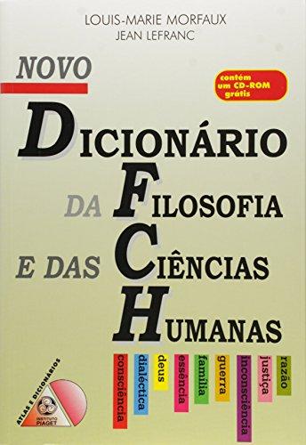Novo Dicionário da Filosofia e das Ciências Humanas