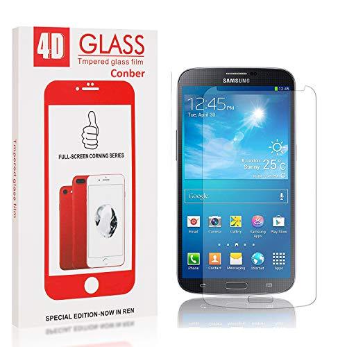 Conber [4 Stück] Displayschutzfolie kompatibel mit Samsung Galaxy S4, Panzerglas Schutzfolie für Samsung Galaxy S4 [9H Härte][Hüllenfreundlich]