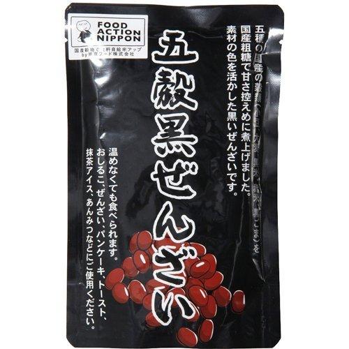 創健社 東京フード 五穀黒ぜんざい 180g ×2セット