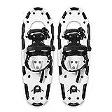 SOAR Raquetas Nieve Peso Ligero Raquetas para Mujer para Hombres Jóvenes niños, Zapatos de Nieve de aleación de aleación de Aluminio Ligero, Raquetas de Nieve con Enlaces de trinquete Ajustables