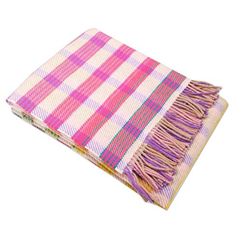 Missoni Home Decke mit Fransen 130 x 180 cm TIZIANO 100 aus reiner Wolle