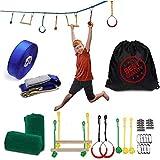 SXXJ Niños Escalada Entrenamiento al Aire Libre Red de Escalada para niños Juego de jardín Escalada Cuerda de Pared Cuerda Ninja Entrenamiento de Brazo
