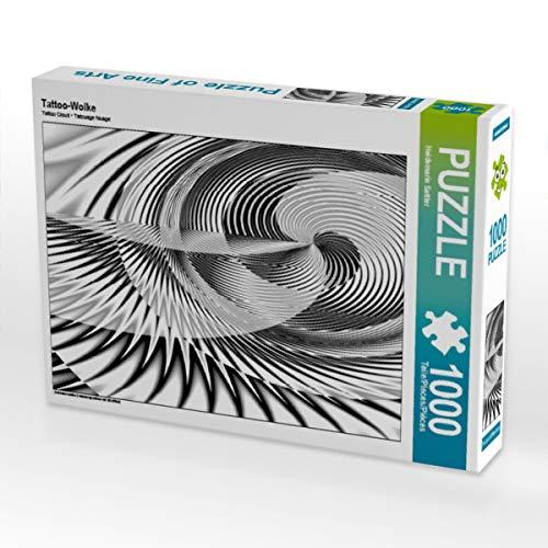 CALVENDO Puzzle Tattoo-Wolke 1000 Teile Lege-Größe 64 x 48 cm Foto-Puzzle Bild von Heidemarie Sattler