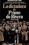 Dictadura de primo de Rivera (1923-1930), la